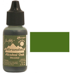 Adirondack Alcohol Ink .5 Ounce -  Earthtones - Meadow