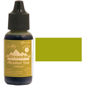 Adirondack Alcohol Ink .5 Ounce - Earthtones - Lettuce