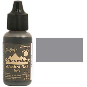 Adirondack Alcohol Ink .5 Ounce - Earthtones - Slate