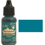 Adirondack Alcohol Ink .5 Ounce - Earthtones - Stream