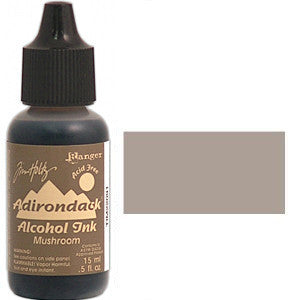 Adirondack Alcohol Ink .5 Ounce -  Earthtones - Mushroom