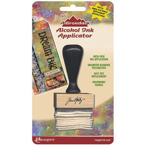 Adirondack Alcohol Ink Applicator - Stamp Handle & Felt
