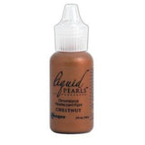 Ranger Liquid Pearls Paint - .05Oz Bottle - Chestnut