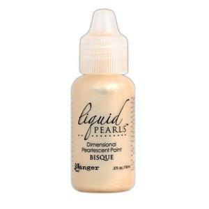 Ranger Liquid Pearls Paint - .05Oz Bottle - Bisque