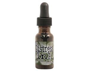 Tim Holtz - Distress Ink Reinkers 14Ml -  Forest Moss