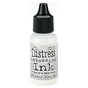 Tim Holtz - Distress Embossing  Refill Ink 15Ml -  Clear