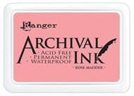 Ranger Archival  Stamp Pads - Rose Madder