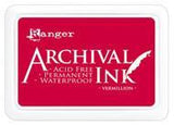 Ranger Archival  Stamp Pads - Vermillion