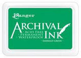 Ranger Archival  Stamp Pads - Emerald Green