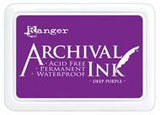 Ranger Archival  Stamp Pads - Deep Purple