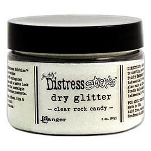 Tim Holtz Distress Stickles Dry Glitter - Clear Rock Candy