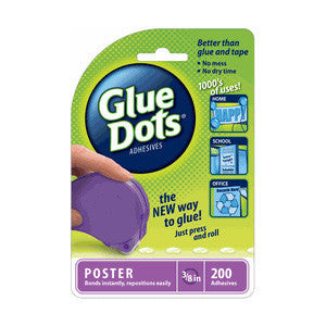 Glue Dots 3/8 Poster Disposable Dispenser