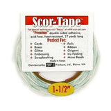 Scor-Tape Double-Sided Tape 1-1/2 X 81 Feet Long