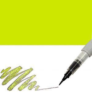 Zig Memory System Wink Of Stella Brush Tip Glitter Marker - Glitter Light Green