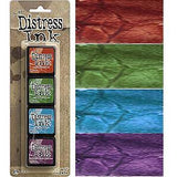 Tim Holtz/Ranger - Distress Mini Ink Pads 4 Pack - Kit 2