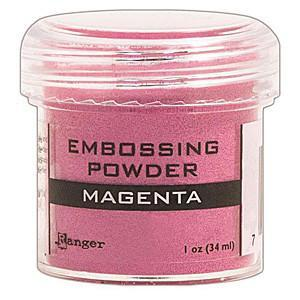 Magenta - Ranger Embossing Powder 1 Oz