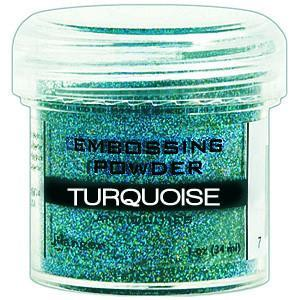 Ranger Embossing Powder 1 Oz - Turquoise
