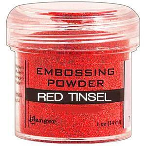Red Tinsel - Ranger Embossing Powder 1 Oz