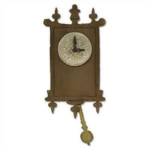 Sizzix Bigz Die - Wall Clock By Tim Holtz