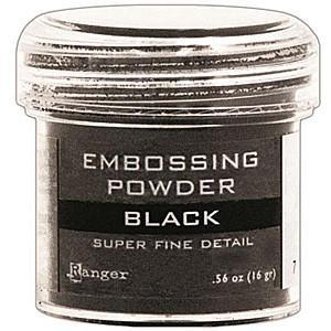 Ranger Super Fine Embossing Powder - Black