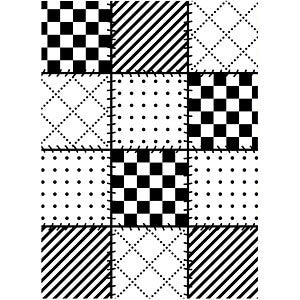 Darice - Embossing Folder - 4.25X5.75 - Quilt Blocks