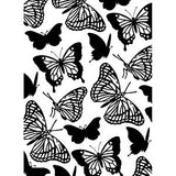 Darice - Embossing Folder - 4.25X5.75 - Butterflies