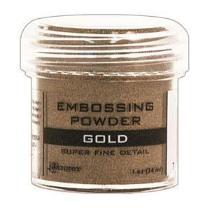 Ranger  - Embossing Powder 1Oz Jar Super Fine Gold