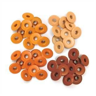 Sale Item - Wer Memory Keepers - Eyelets Wide - Orange