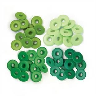 Sale Item - Wer Memory Keepers - Eyelets Wide - Green