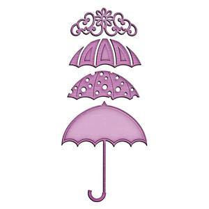 Spellbinders Shapeabilities Inspire Die Umbrella Trio