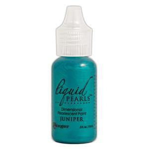 Liquid Pearls Paint .5Oz Bottle Juniper