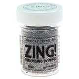 Zing! Glitter Embossing Powder 1Oz Silver