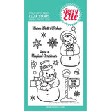 Avery Elle Clear Stamp Set 4X6 Frosty Friends