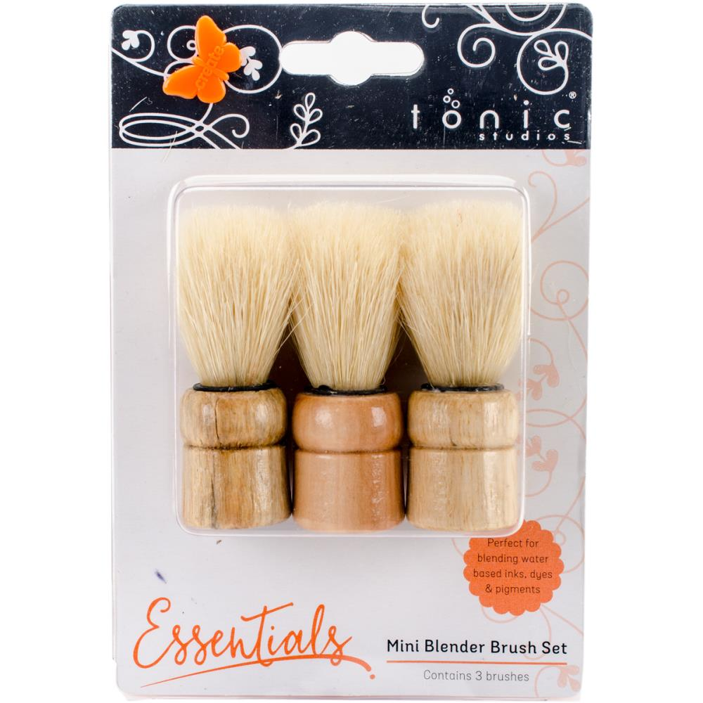 Tonic Studios Mini Blending Brush Set 3/Pkg