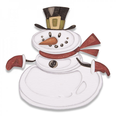 Sizzix Thinlits Dies - Mr. Snowman, Colorize by Tim Holtz