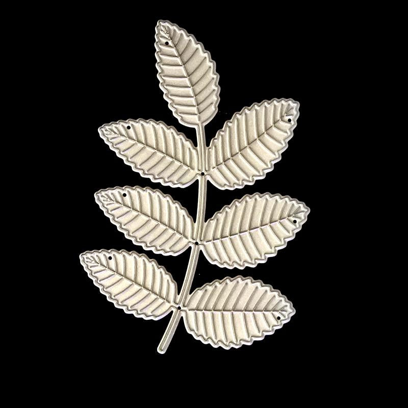 Poppy Crafts Dies - Beautiful leaf Die Design