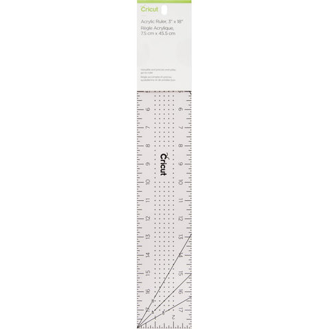 Cricut Acrylic Ruler 3X18 Rose