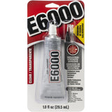 E6000 Clear Adhesive With Precision Tips 1oz