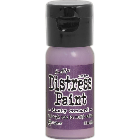 Tim Holtz Distress Paint Flip Top 1oz - Dusty Concord