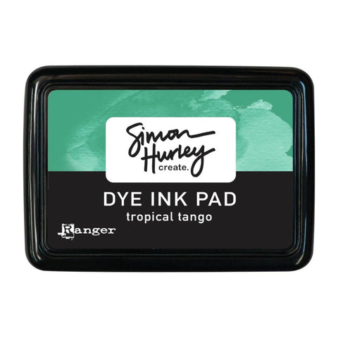 Simon Hurley create. Dye Ink Pad - Tropical Tango