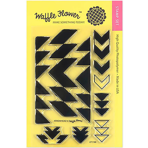Waffle Flower Crafts Clear Stamps 4X6 Arrowhead