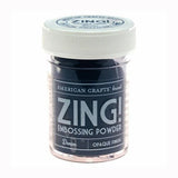 American Crafts - Zing Embossing Poweder - Denim