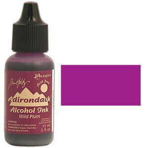 Adirondack Alcohol Ink .5 Ounce - Earthtones - Wild Plum