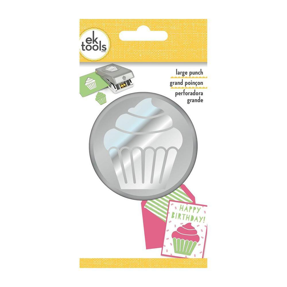 EK Success-Paper Shapers - Large Punch - Cupcake