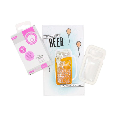 Tonic Studios - Cheers! Shaker Refill Set - Beer Glass - Shaker Creator