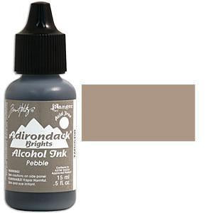 Adirondack Alcohol Ink .5 Ounce - Brights - Pebble