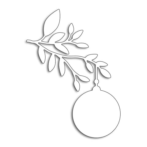 Penny Black Creative Dies Ornament Branch 3.6X2.75