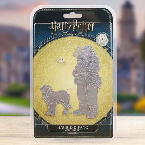 Harry Potter Die And Face Stamp Set Hagrid & Fang