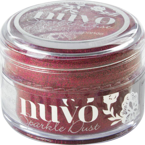 Tonic Studios - Nuvo Sparkle Dust - Raspberry Bliss