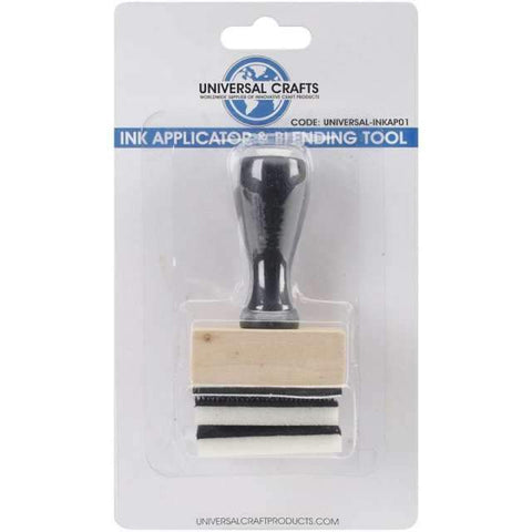 Universal Crafts Ink Applicator & Blending Tool-with 2 Foam Pads